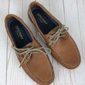 Sperry Top Sider Leather Boat Shoes Men's 11.5 M